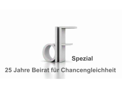 Video: «dF Spezial - 25 Jahre Beirat für Chancengleichheit»