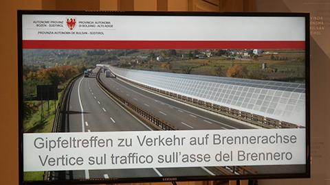 Video: «Brennerautobahn: Maßnahmen zum besseren Management des Verkehrs»