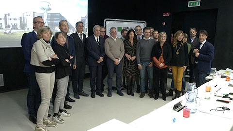 Video: «Edilizia e buone pratiche, Unione province in visita in Alto Adige»