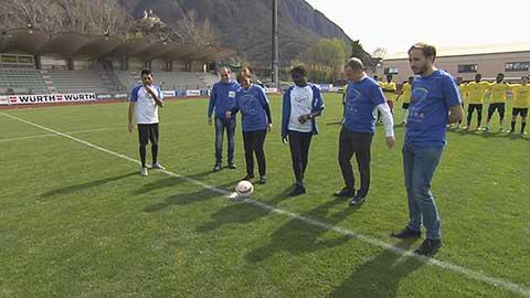 Video: «Un calcio ai pregiudizi! Lo sport promotore di valori.»