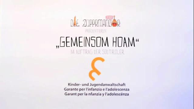 """Video: «""""Gemeinsom Hoam"""" der Zupprmandor»"""