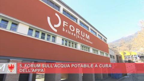 Video: «V° Forum sull'acqua potabile: utilizzo e sostenibilità in primo piano. GNews Production»