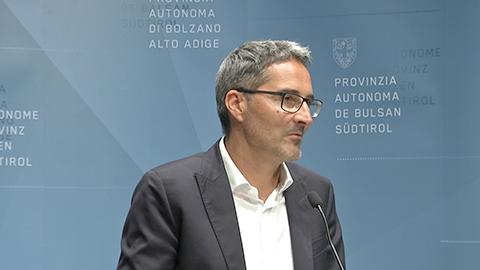 Video: «Le decisioni della Giunta Provinciale di Bolzano  20.09.2019»