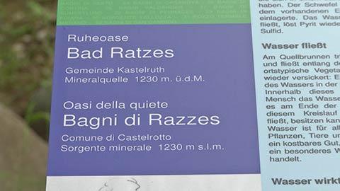 Video: «Inaugurazione dell'Oasi della quiete presso la sorgente minerale Bagni di Razzes a Castelrotto (BZ) - GNews Production»