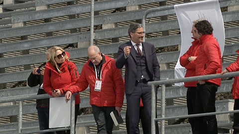 Video: «Olympische Winterspiele 2026: IOK-Kommission besucht Antholz»