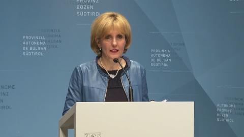 Video: «Le decisioni della Giunta Provinciale di Bolzano  18-02-2020»