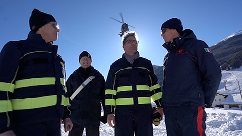 Video: «Lokalaugenschein in Langtaufers: Situation unter Kontrolle»