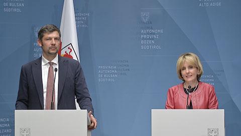 Video: «Le decisioni della Giunta Provinciale di Bolzano   30.07.2019»