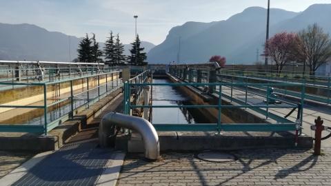 Video: «Monticolo collegato al depuratore di Termeno. G.News Production»
