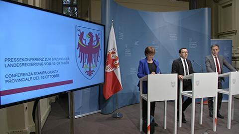 Video: «Le decisioni della Giunta Provincia di Bolzano»