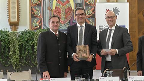 Video: «Europaregion: Abschlussbilanz des Trentiner Vorsitzes und Ziele der neuen Südtiroler Präsidentschaft»