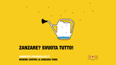 Video: «Zanzare? Svuota tutto! Spot video. FrabiatoFilm»