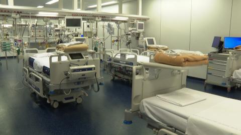 Video: «Reparto Covid 2 in funzione all'ospedale di Bolzano»