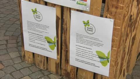 Video: «GreenEvent: riciclaggio, sostenibilità, valorizzazione dei prodotti locali. GNews Production»