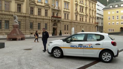 Video: «Vigilanza in piazza S. Magnago: primo bilancio positivo»