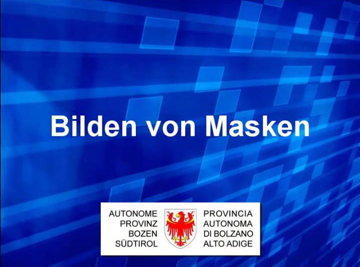 Video: «6 Bilden von Masken»