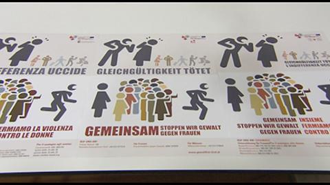 """Video: «Kick-off per la campagna Euregio """"Insieme fermiamo la violenza sulle donne""""»"""