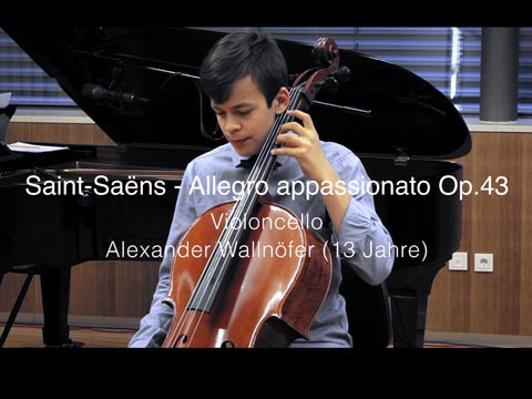 Video: «Saint Saens - Allegro Appassionato Op.43»