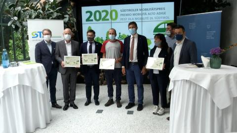 Video: «Südtiroler Bauernbund gewinnt den Südtiroler Mobilitätspreis 2020»