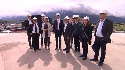 Video: «Nuovo ospedale di Bolzano: avanzano i lavori»