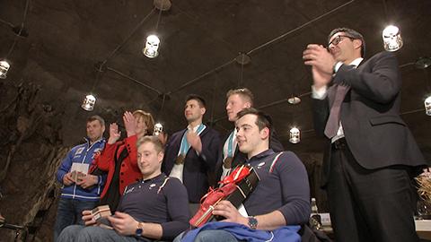 Video: «Ehrung für die Südtiroler Olympiateilnehmer und Verabschiedung der Paraolympioniken»