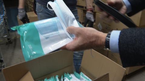 Video: «Schutzausrüstung für Südtirol: Eine Großlieferung eingetroffen»
