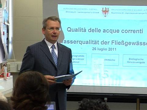 Video: «Pressekonferenz: Qualität der Fließgewässer»