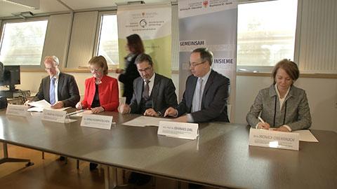 Video: «E' realtà la formazione medico-specialistica transfrontaliera»