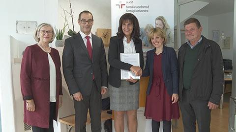 Video: «Familienfreundlichkeit am Arbeitsplatz ist inzwischen in Südtirol weit verbreitet»