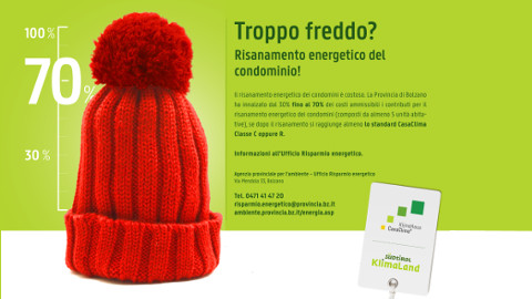 Video: «Troppo freddo? Spot radiofonico. BCool-Comunicare-Oltre, Bolzano»