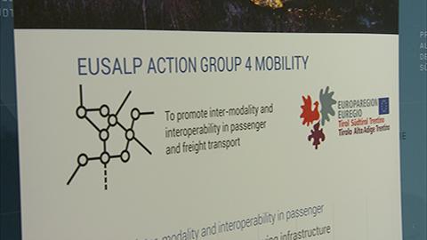 Video: «EUSALP-Mobilitätskonferenz: Mautregelung, Verkehrsverlagerung, alpiner Güterverkehr»