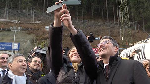Video: «EU-Verkehrskommissarin Bulc zur Wichtigkeit des Brennerbasistunnels»