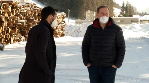 """Video: «Areal der ehemaligen Kaserne """"Cesare Battisti""""geht an die Gemeinde Welsberg-Taisten»"""