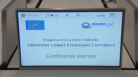 Video: «Progetto EU-LIFE BrennerLEC. GNews Production»