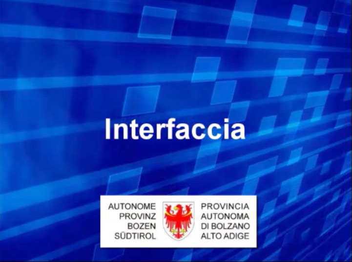 Video: «9 Interfaccia»