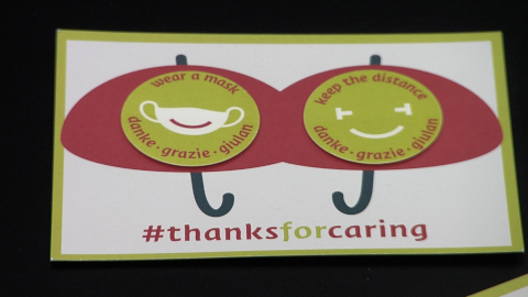 Video: «#thanksforcaring»