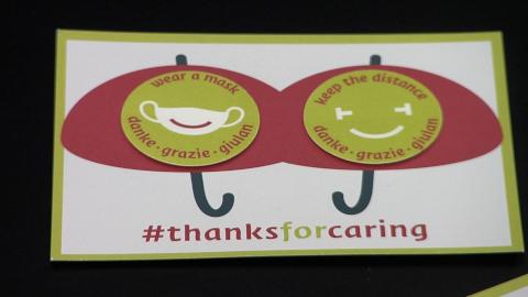 Video: «#thanksforcaring»