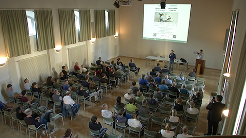 Video: «Radon, Bürger können sich an Messungen beteiligen. GNews Production»
