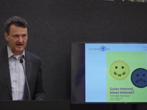 Video: «Gutes Internet, böses Internet?»