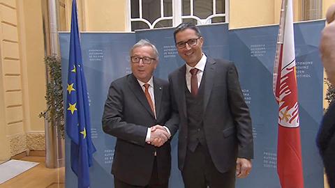 Video: «70 Jahre Pariser Abkommen: Juncker in Bozen»