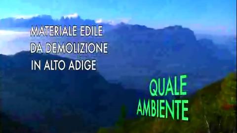 """Video: «Materiale edile da demolizione in Alto Adige, una trasmissione del ciclo """"Quale ambiente"""". BCool-Comunicare-Oltre Bolzano»"""