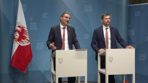 Video: «Le decisioni della Giunta Provinciale di Bolzano  03-03-2020»