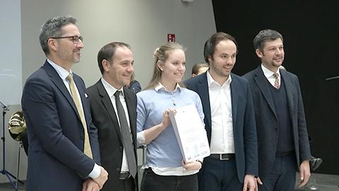 Video: «Auszeichnung für Oberschulabsolventen mit Bestnote im NOI Techpark»