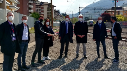 Video: «Bolzano: nuove barriere antirumore in zona Piani-Rencio. G.News Production»