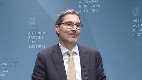 Video: «Le Decisioni della Giunta Provinciale di Bolzano 17.12.2019»