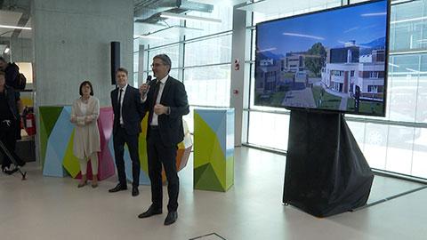 Video: «Sitzung der Landesregierung im Noi Techpark in Bozen»