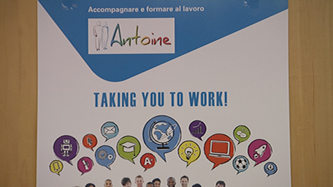"""Video: «""""Antoine"""": nuove opportunità di formazione per chi cerca un lavoro»"""