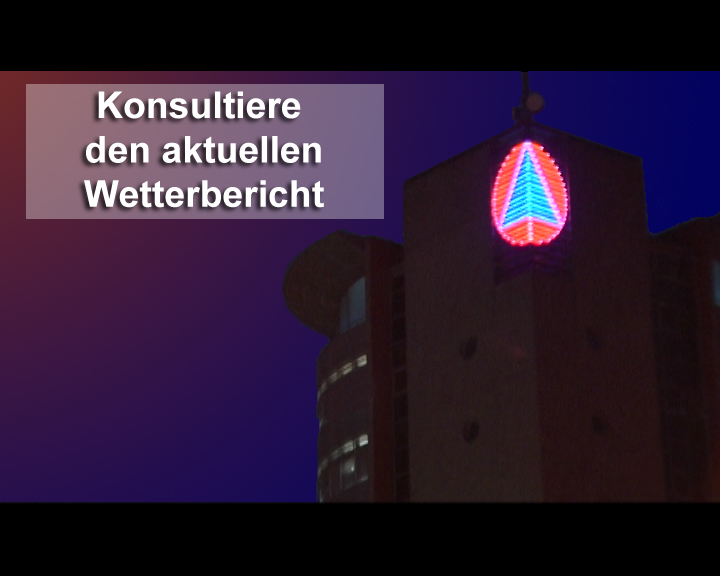 Video: «Konsultiere den aktuellen Wetterbericht»