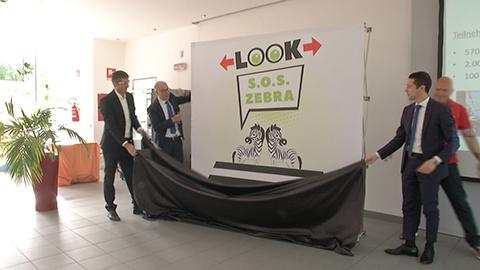 Video: «SOS Zebra: look tutto nuovo per la campagna della sicurezza stradale»