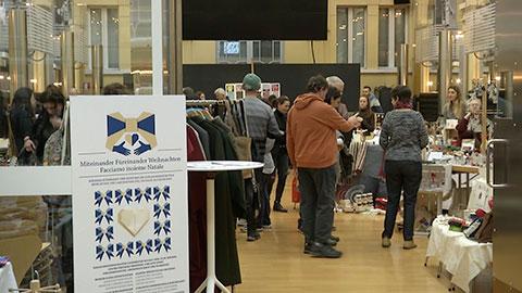 Video: «Facciamo insieme Natale: aperto il mercatino del sociale a Bolzano»